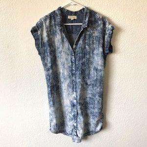 Cloth & Stone Chambray tunic/dress